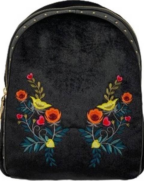 Černý batoh Trussardi