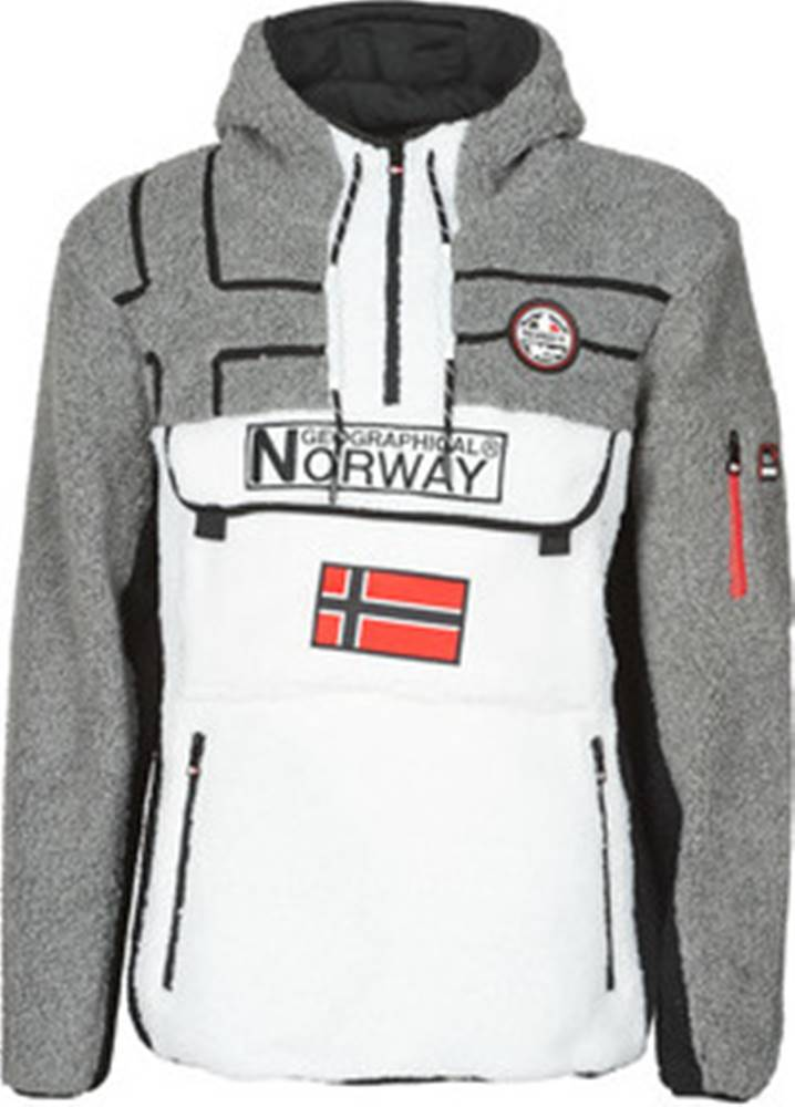 Geographical Norway Fleecové bundy RIAKOLO Bílá