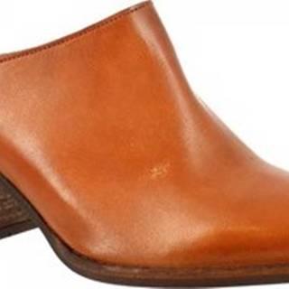 Pantofle Z161 AMERICA CUOIO Hnědá