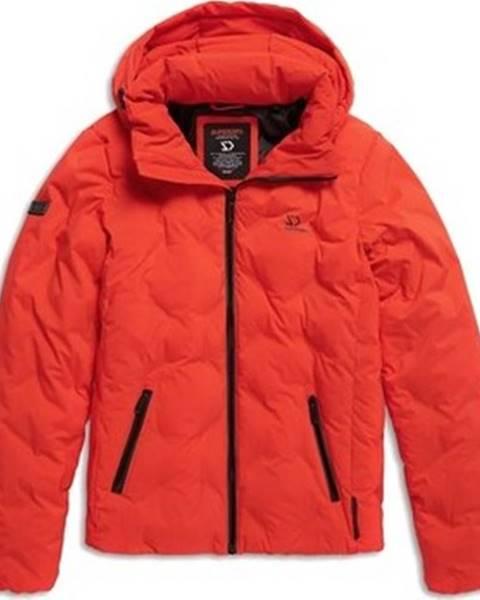 Červená bunda superdry