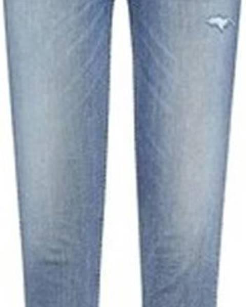 Modré kalhoty tommy hilfiger