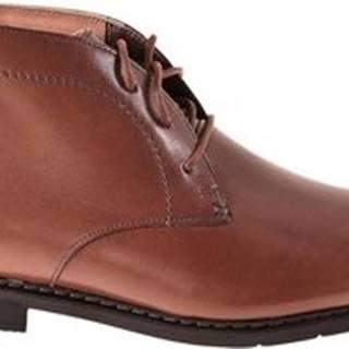 Kotníkové boty 135425 Hnědá