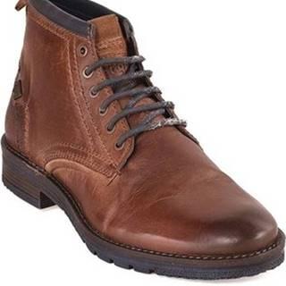 Kotníkové boty WM182041 Hnědá