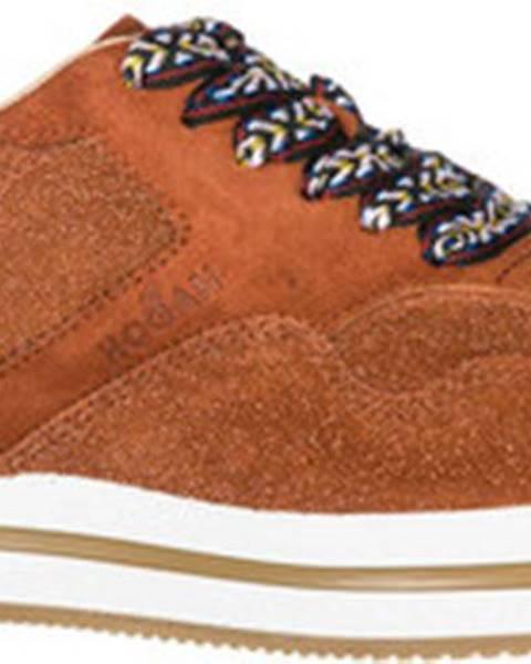 Červené sandály Hogan