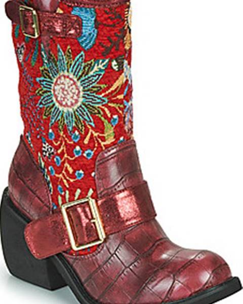 Červené boty Irregular Choice
