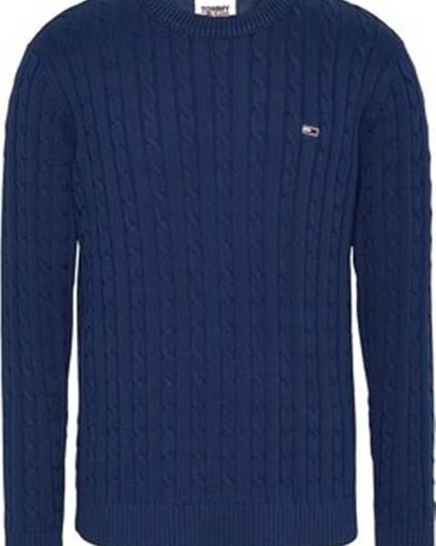 Modrý svetr Tommy Jeans