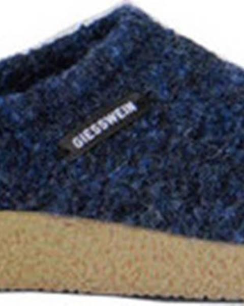Modré domácí boty Giesswein