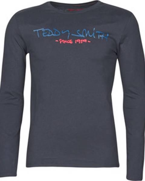Modré tričko Teddy Smith