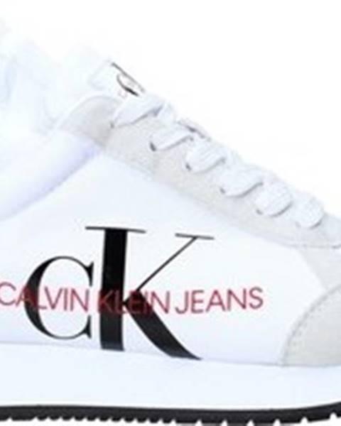 Bílé tenisky calvin klein jeans