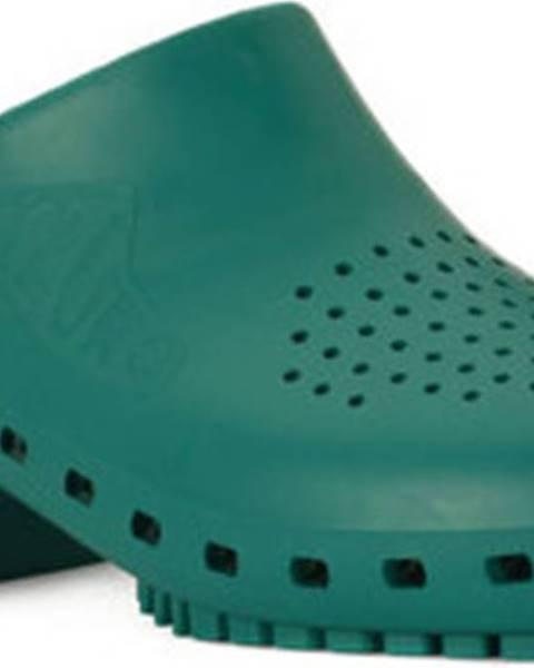 Zelené pantofle Calzuro
