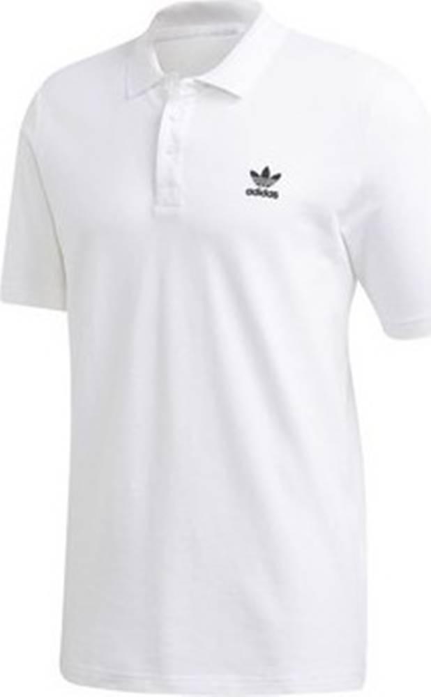 adidas adidas Trička s krátkým rukávem Essential Polo Bílá