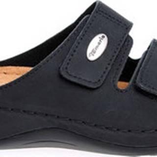 Dřeváky Dámské pantofle 1-27510-25 black Černá
