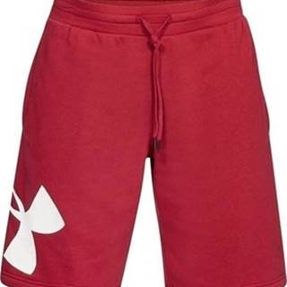 Kraťasy & Bermudy Rival Fleece Logo Short Červená