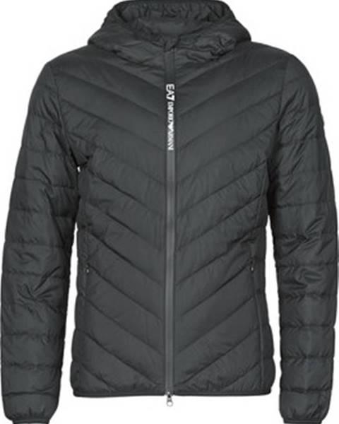 Černá bunda Emporio Armani EA7