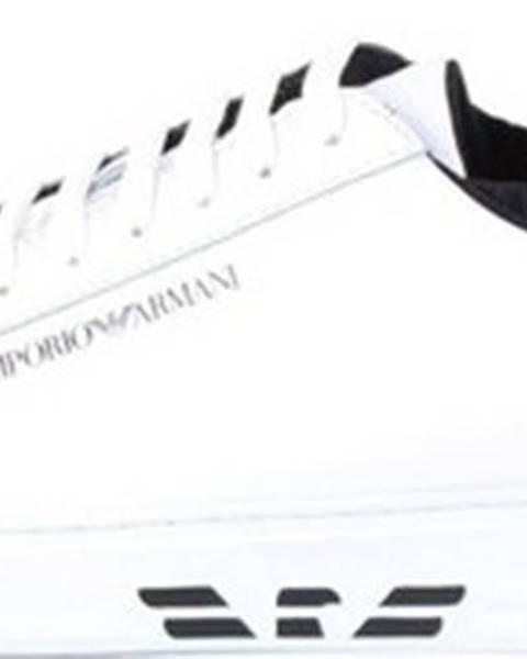 Bílé tenisky Armani