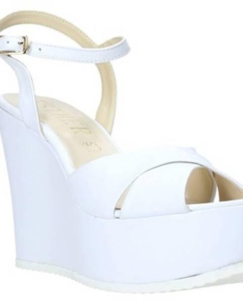Bílé sandály Esther Collezioni
