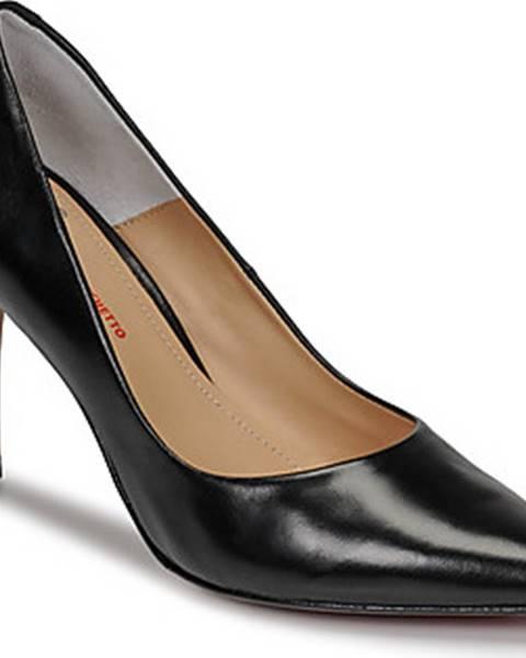 Černé boty Perlato