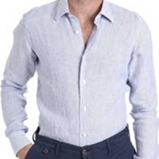 Košile s dlouhymi rukáv BMSHIKS931R Bílá