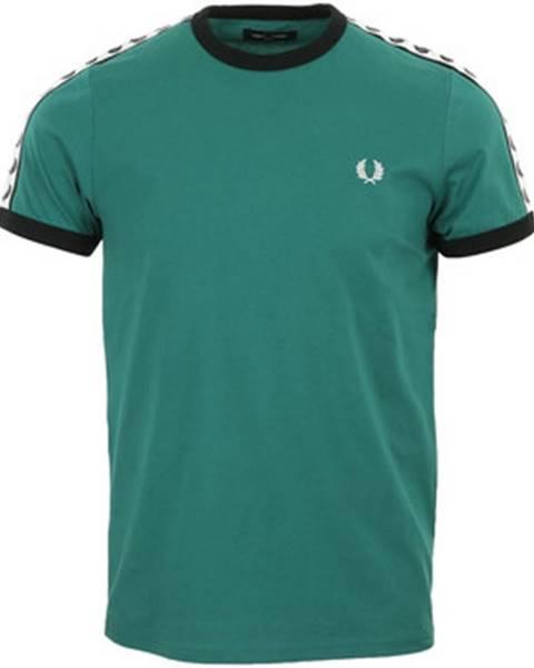 Zelené tričko Fred Perry