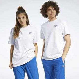 Trička & Pola Classics Small Vector T-Shirt Bílá
