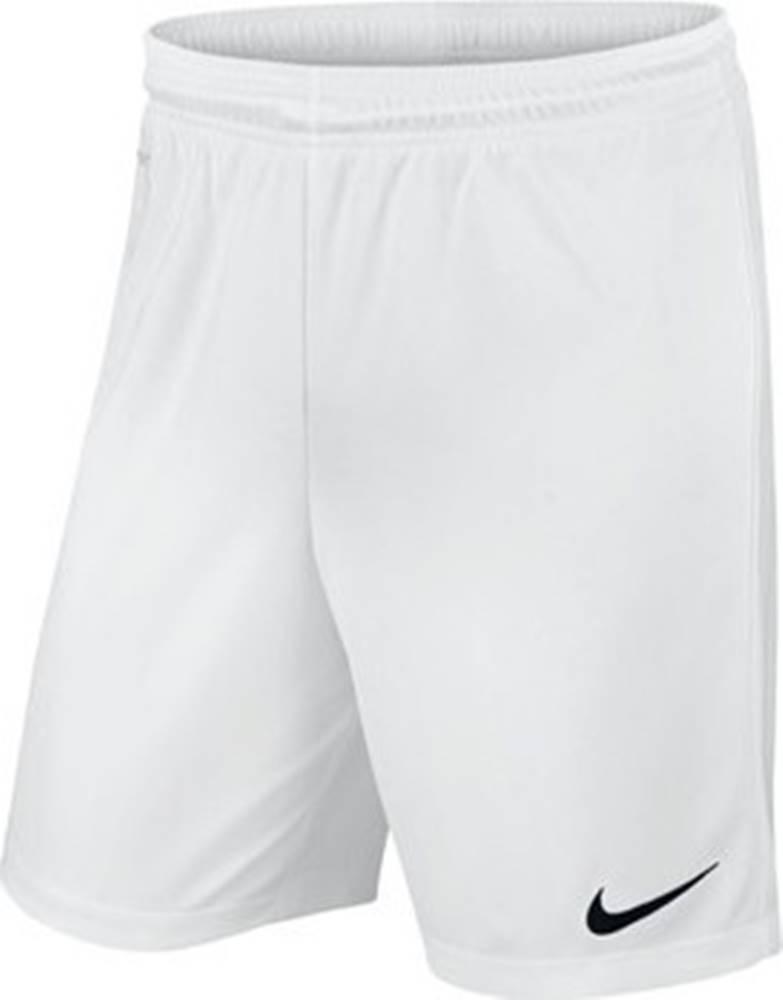 nike Kraťasy & Bermudy Park II Knit Pants Man White Bílá