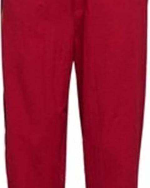 Červené tepláky adidas