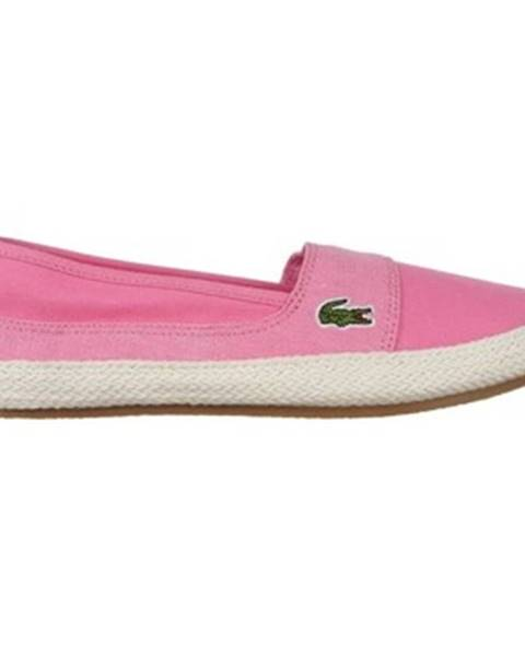 Růžové boty lacoste