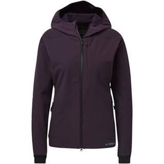adidas Bundy Bunda Terrex Climaheat Ultimate Hooded Fleece Fialová