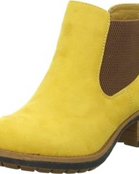 Žluté boty Rieker