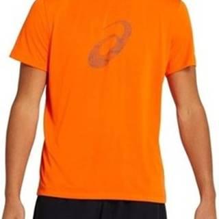 Asics Trička s krátkým rukávem Sport Gpx SS Oranžová