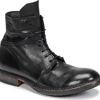 Kotníkové boty MINSK Černá