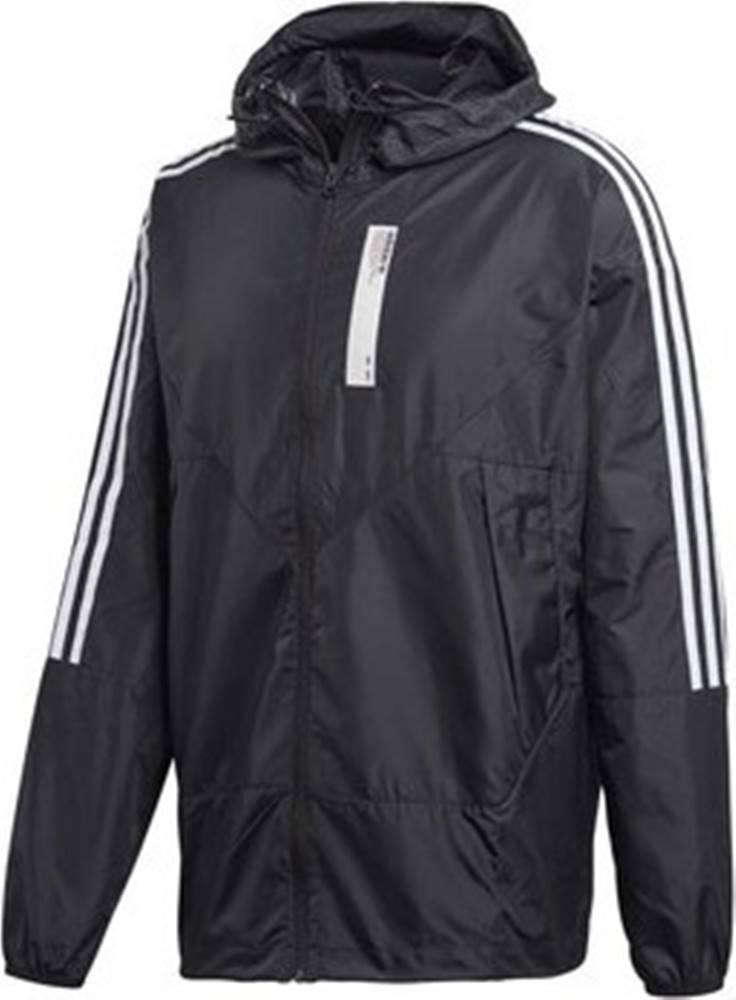 adidas adidas Teplákové bundy DH2285 Černá
