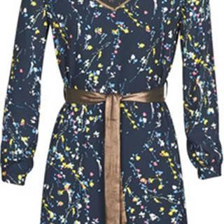 Krátké šaty LIOR Modrá