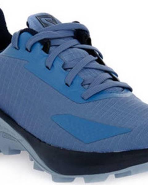 Modré boty Salomon