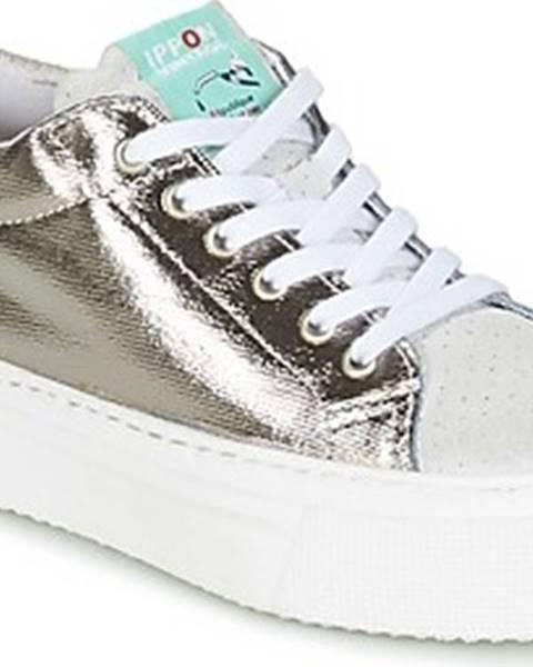 Stříbrné tenisky Ippon Vintage