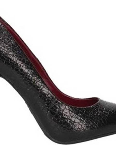 Černé boty Francescomilano