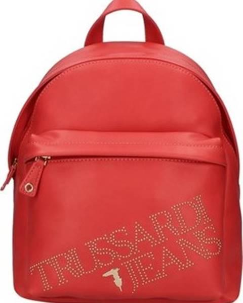 Červený batoh Trussardi
