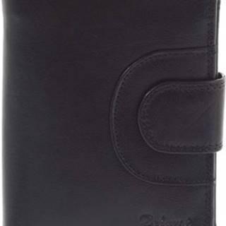 Peněženky Pánská kožená peněženka černá - Armando Černá