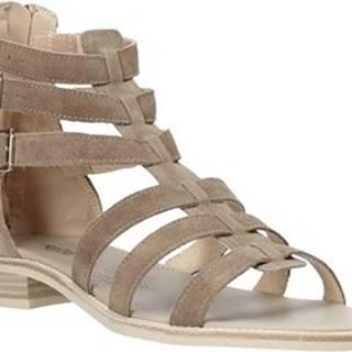 Sandály E012490D Béžová