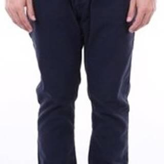 Kapsáčové kalhoty ROMAU3564 Modrá
