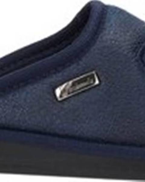 Modré domácí boty Susimoda