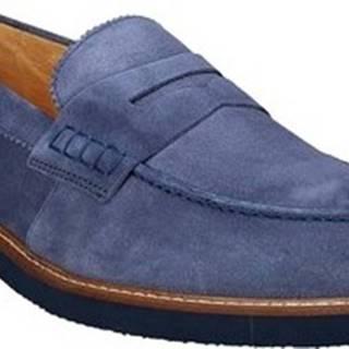 Mokasíny 9102 Modrá