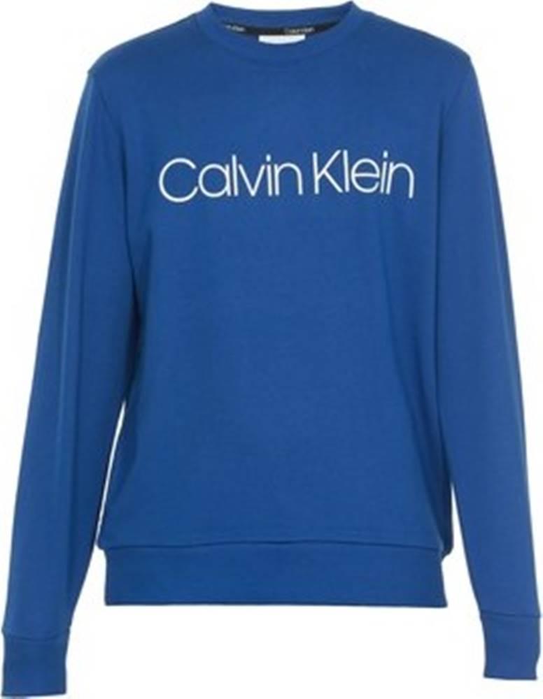 calvin klein jeans Mikiny K10K102724 Modrá