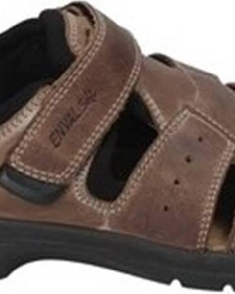 Hnědé sandály Enval
