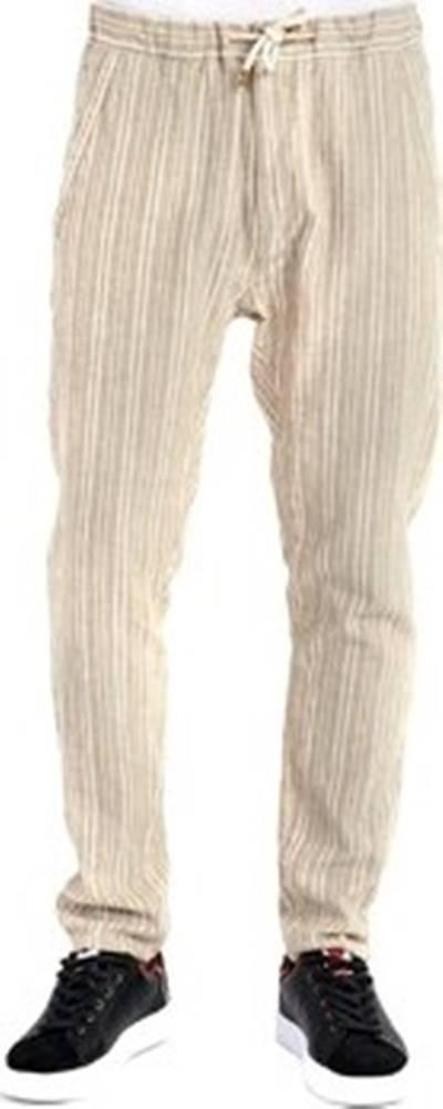 GAUDÌ Gaudi Ležérní kalhoty 911BU25031 Béžová