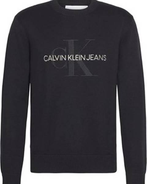 Černý svetr calvin klein jeans