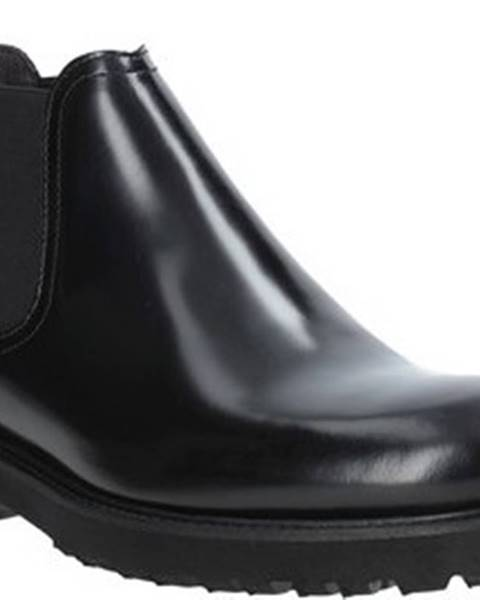 Černé boty Exton