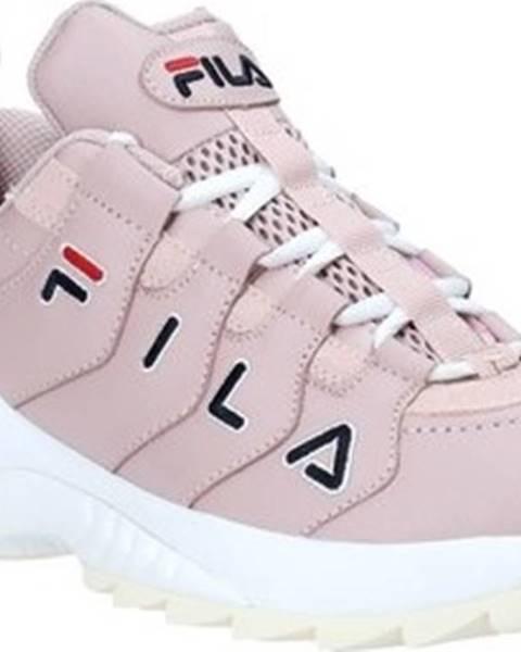 Růžové tenisky fila
