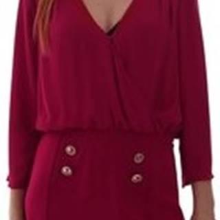 Gaudi Krátké šaty 921FD15037 Růžová