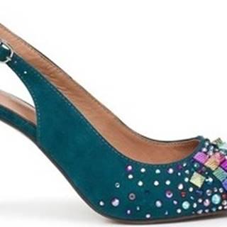 Sandály V19201 Modrá